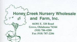 Honey Creek Nursery Wholesale & Farm, Inc.